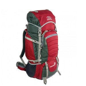 Highlander Expedition 65l Rugzak Rood