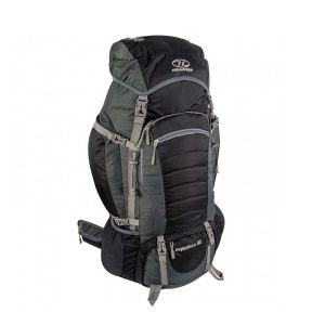 Highlander Expedition 65l Rugzak zwart