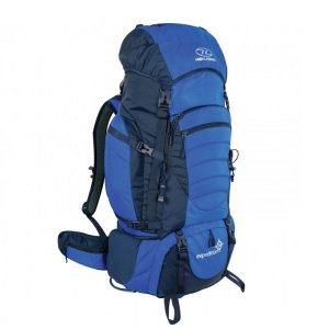 Highlander Expedition 85 Rugzak Blauw