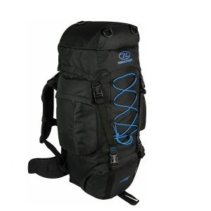 Highlander Rambler 66L Backpack Zwart