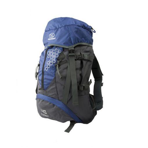 Highlander Summit 40L Rugtas Blauw