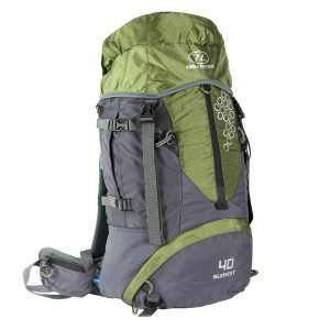 Highlander Summit 40L Rugtas Groen