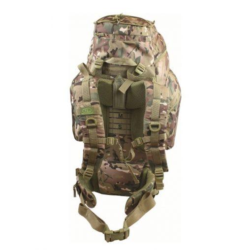 Highlander New Forces 66 Leger Rugzak camouflage back